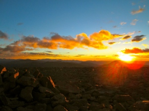 Mount Bross sunrise